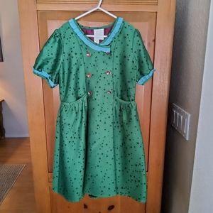EUC Matilda Jane Painting By Numbers Star Dress 10